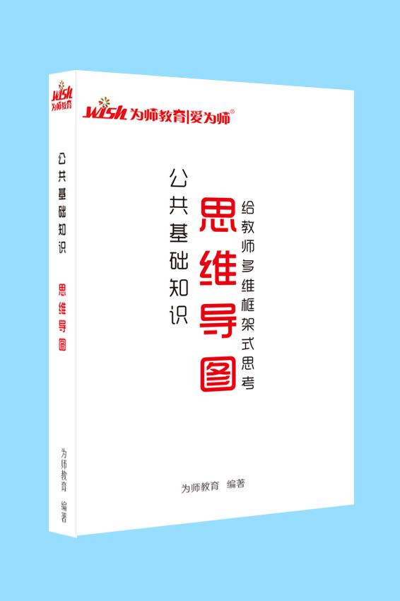2020版山东教师招聘考试《公共基础知识思维导图》