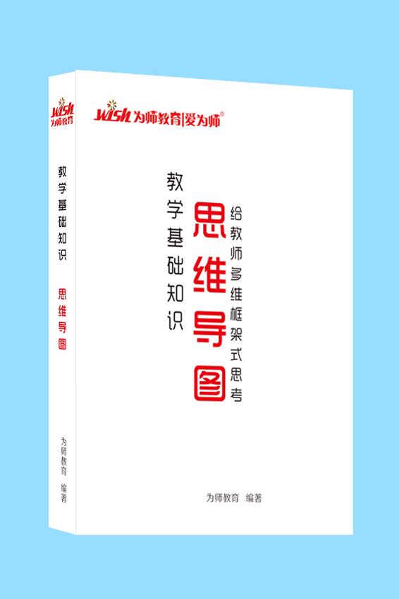 2020版山东教师招聘考试《教育基础知识思维导图》